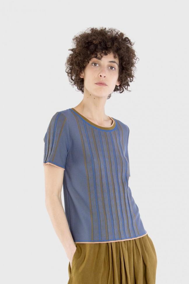 Tshirt ALTER Bleu