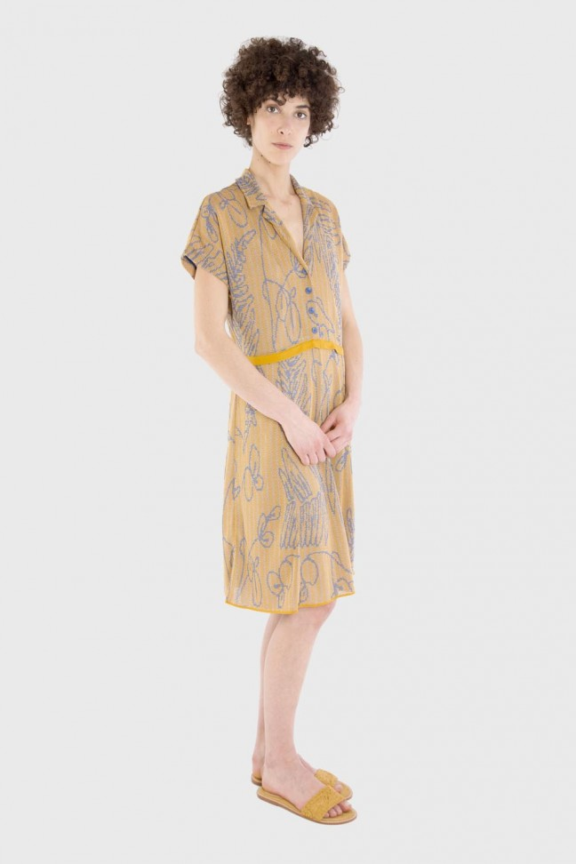 Dress SAVANNAH Ochre