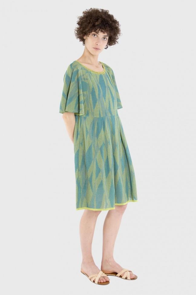 Dress LUCINDA Aqua