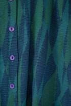 Gilet long LUCINDA Bleu