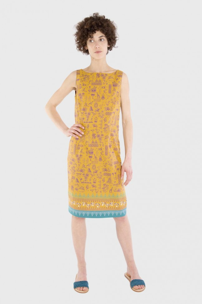 Dress REDWORK Ochre