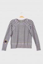 Striped sweater BLASON Mauve