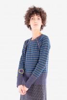 Striped sweater BLASON Night