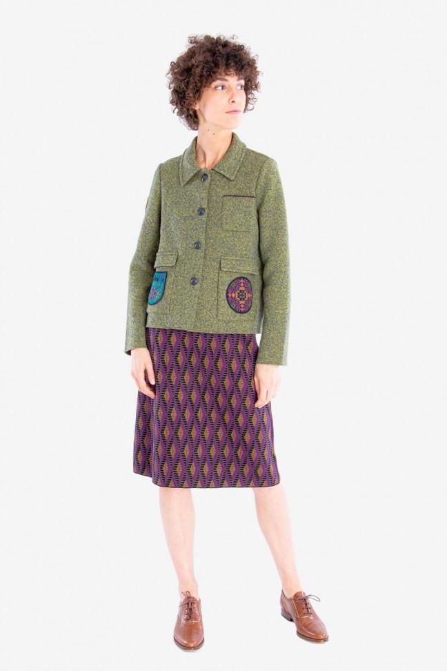 Jacket BLASON Green