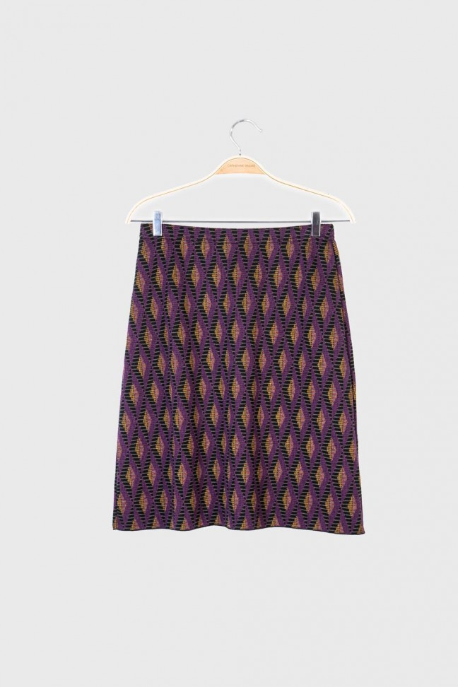 Skirt DIAMOND Burgundy