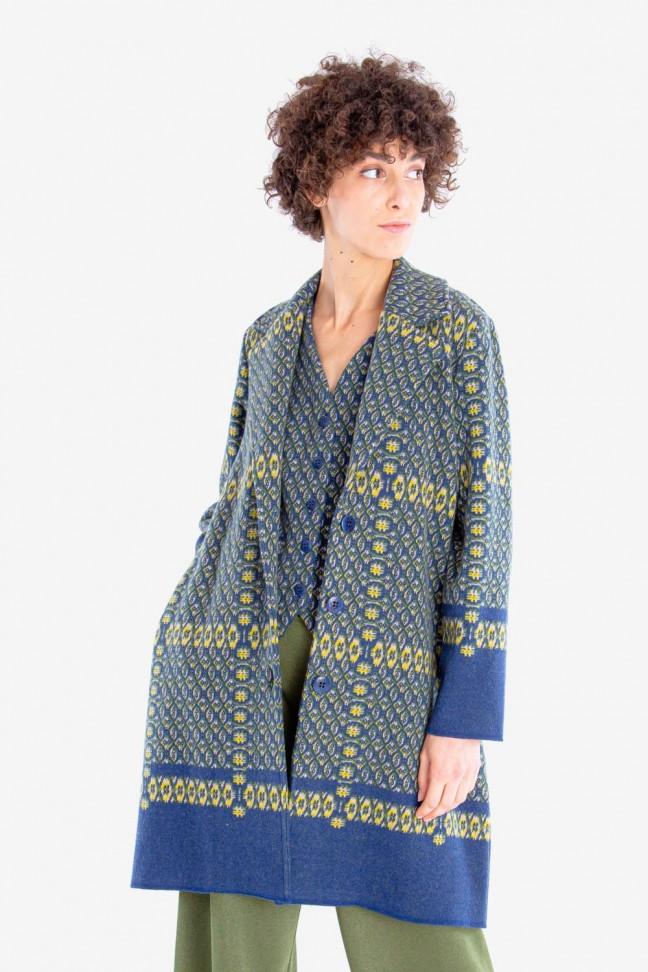Coat FICTION Blue