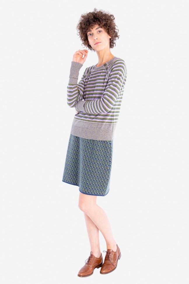 Skirt FICTION Blue