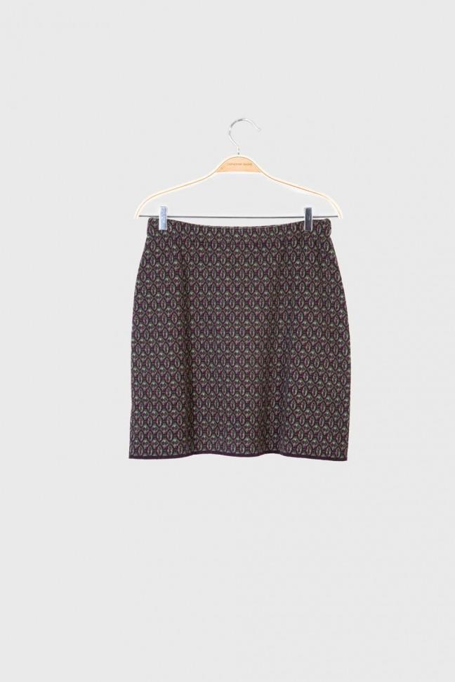 Skirt FICTION Burgundy
