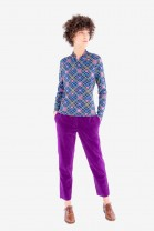 Carrot pants VICTOR Purple
