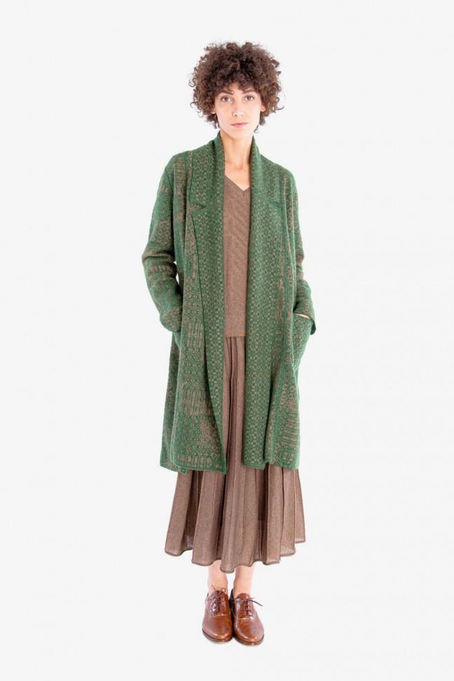 Open coat EPIC Green