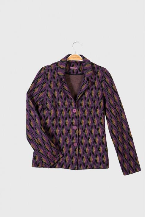 Jacket DIAMOND Burgundy