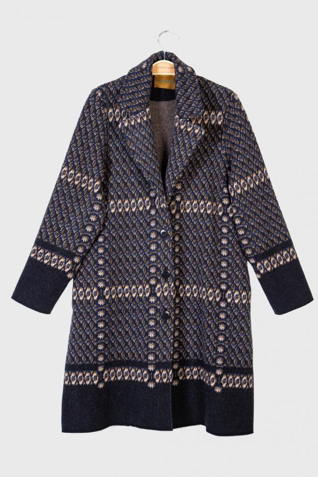 Coat FICTION Black