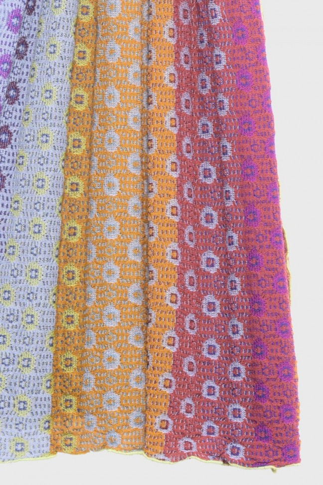 Scarf MILLEFIORI Orange