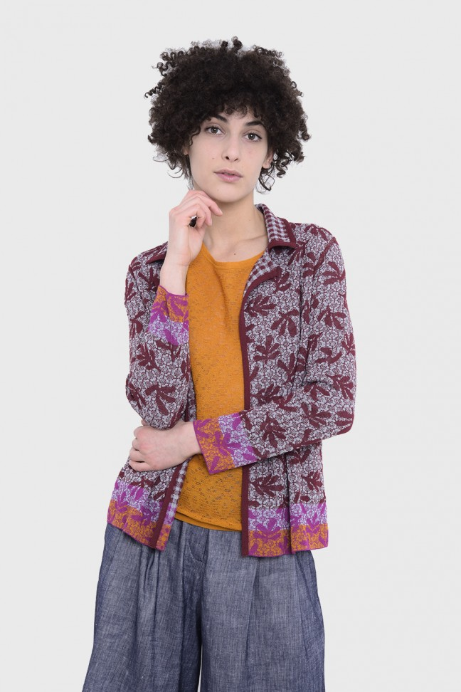 Jacket VALLREVERS Burgundy