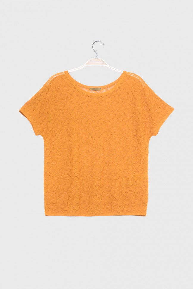 Tshirt FOLKS Orange