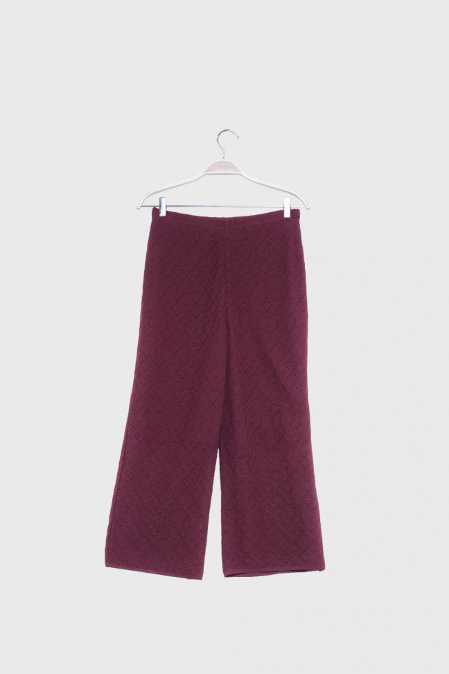 Pants FOLKS Burgundy
