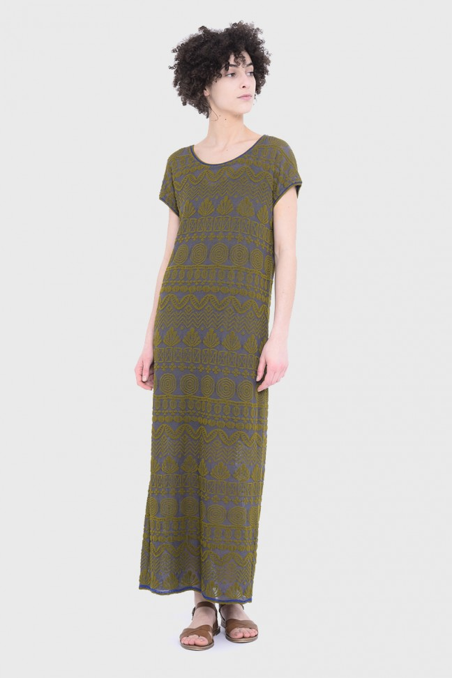 Long dress BEAUSOLEIL Khaki