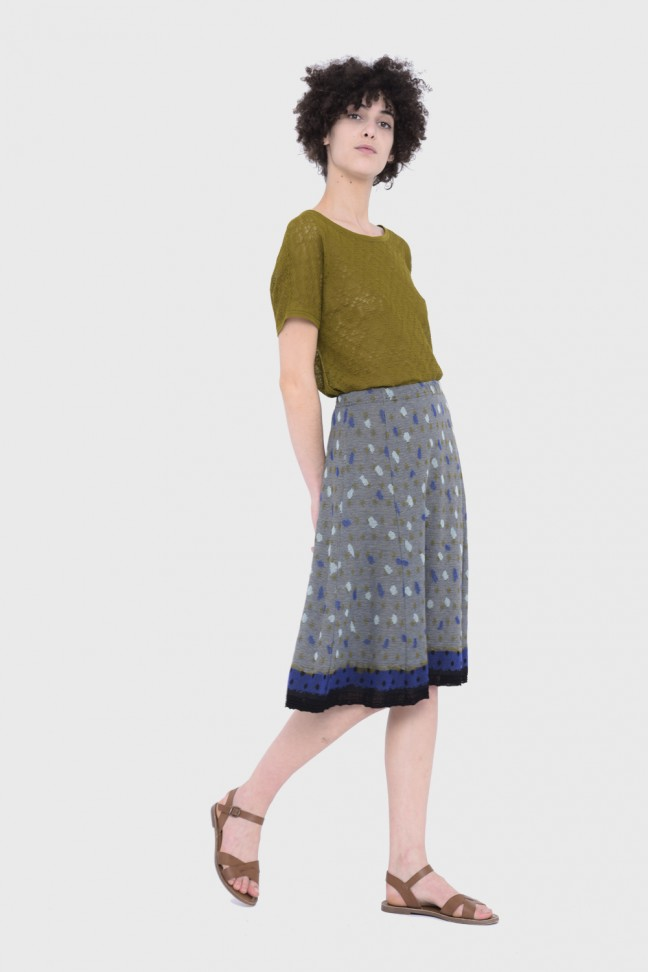 Skirt STACCATO Blue