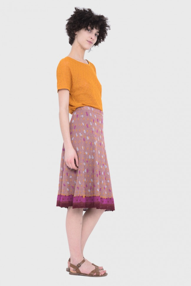 Skirt STACCATO Orange