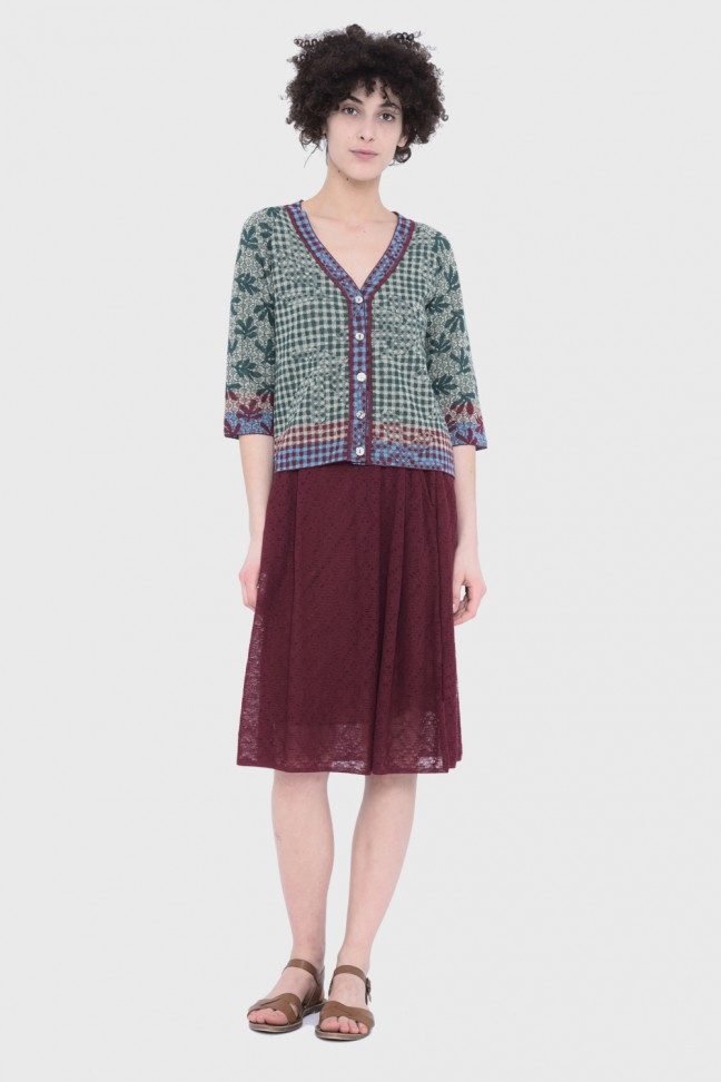 Cardigan VALLREVERS Green