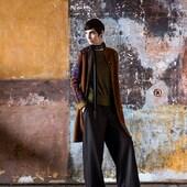 Flashback Winter 2013 at Chateau de Castelnau Peygairolles shot by #Richardhaughton 🍁 #knitdesign #knitwear #madeinfrance #catherineandre