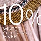 Du 14 au 19 octobre 10% de remise sur la collection AH 2020-21 dans nos boutiques et https://www.catherineandre.com/fr/ From 14 to 19 october 10% rebate on the AW 2020-21 Collection in our boutiques and https://www.catherineandre.com/en/ hors basiques / except on basics
