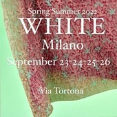 Spring Summer 2022 at @whiteshowofficial until September 26 ! #catherineandre #milano #showroom