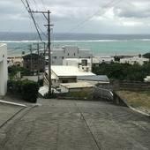 To the ocean in Yomitan Okinawa