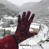 Good morning winter ! 🧤❄️ #catherineandre #gloves #knitwear #knitdesigner